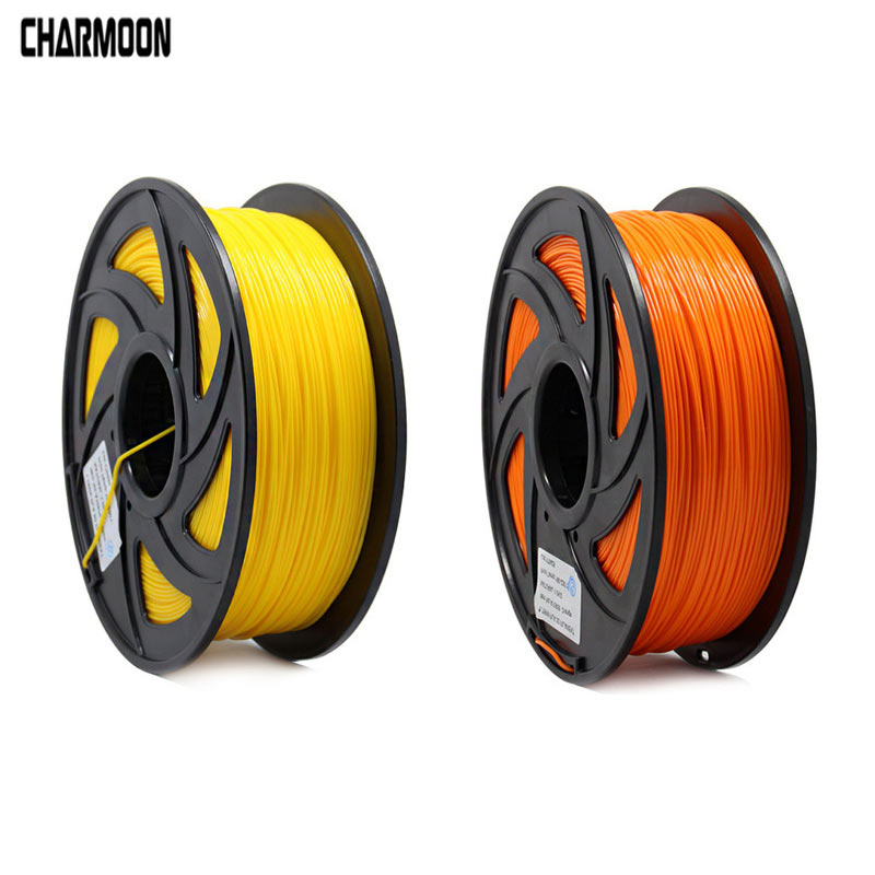 3D Printer 1KG 1.75mm PLA Filament Printing Materials Colorful For 3D Printer Extruder Pen Rainbow Plastic Accessories Red Gray