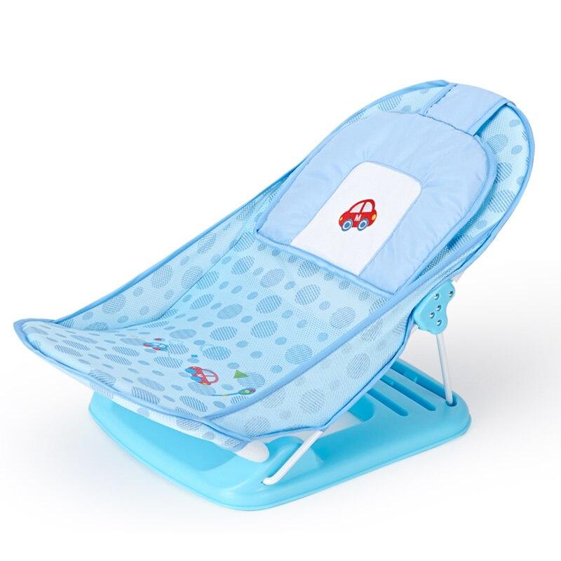 AIWIBI supports de bain pour bébé pliable baignoires pour nourrissons et jeunes enfants baignoire en maille baignoire antidérapante - 5