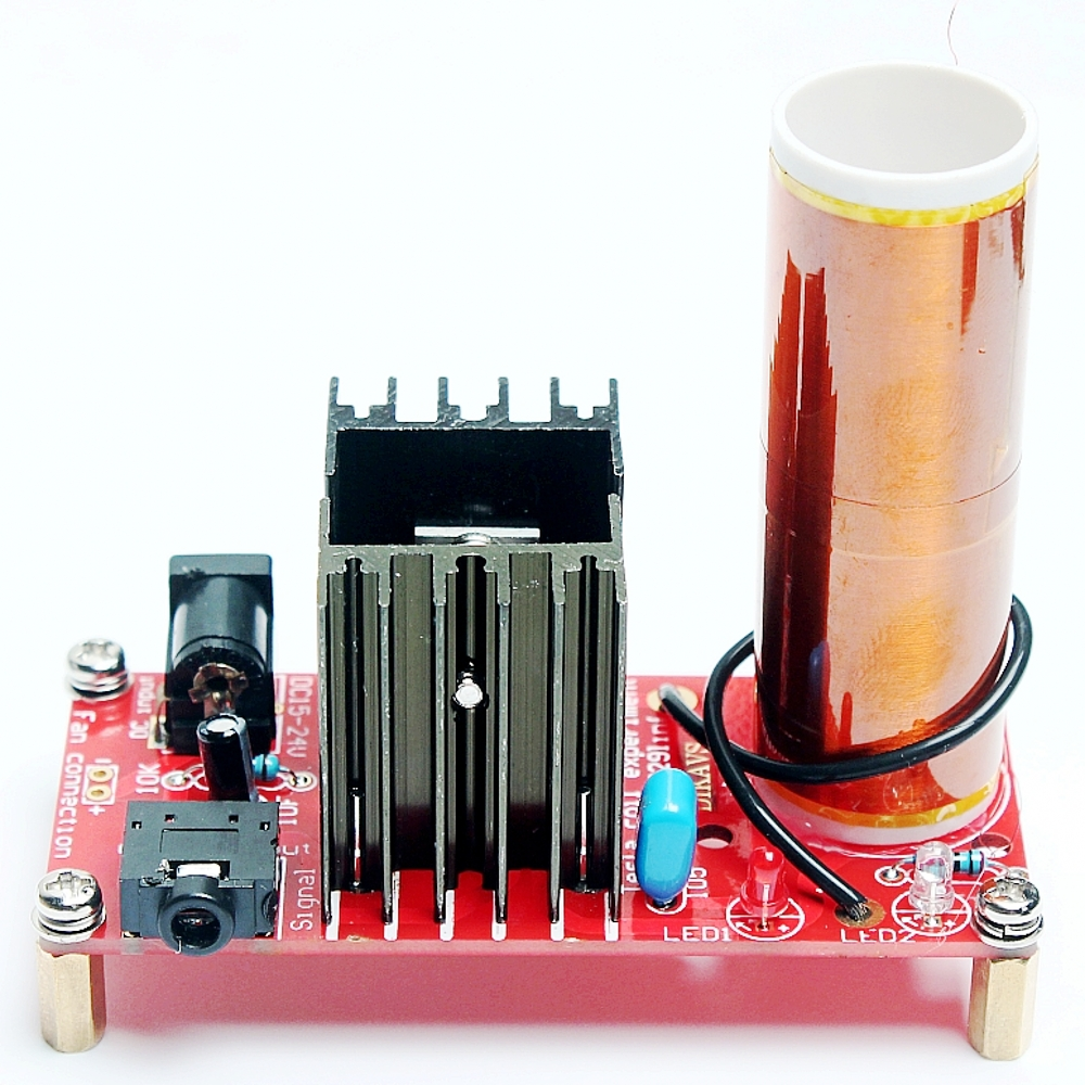 buy diy mini tesla coil kit music tesla coil wireless transmission physical experiment set online cheap alwebuy buy diy mini tesla coil kit music tesla