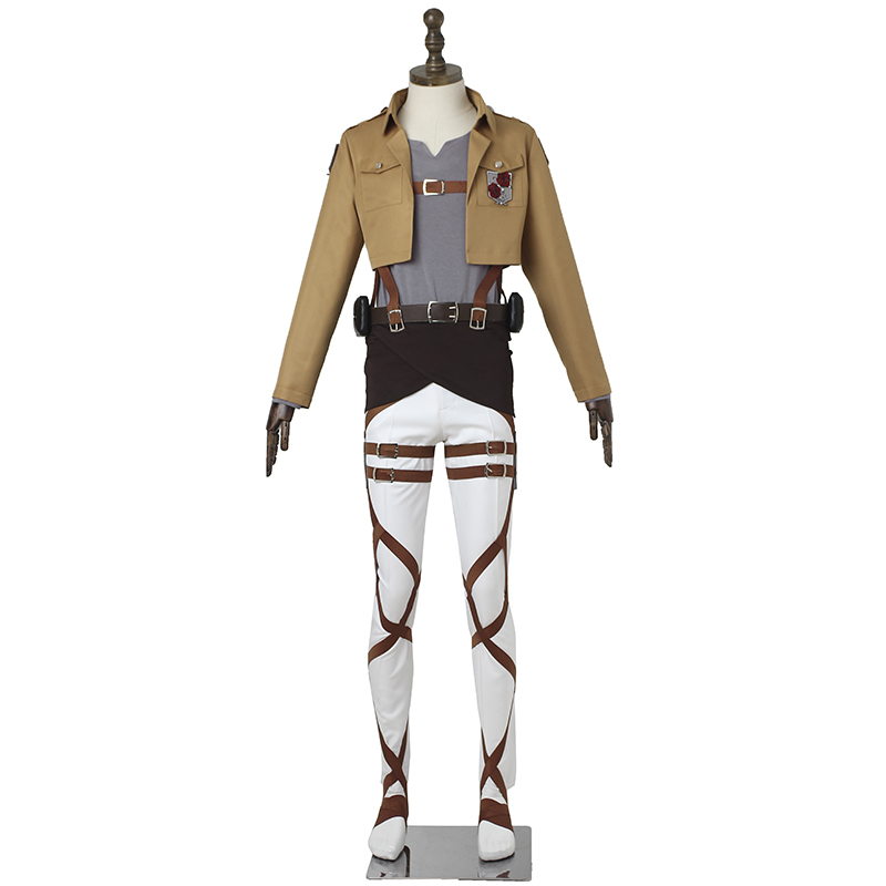 Attack on Titan Cosplay Costume Dot Pixis Cosplay Anime Shingeki No Kyojin Stationed Corps Commander Costume Halloween Adult Men стоимость