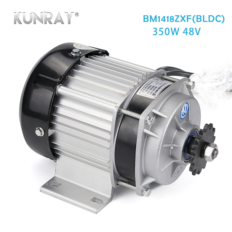 <font><b>Electric</b></font> Tricycle Brushless Motor <font><b>48V</b></font> 350W DC Motor For E-Car 3 <font><b>Wheel</b></font> Car <font><b>Electric</b></font> <font><b>Motorcycle</b></font> Conversion Kit BM1418ZXF Unite image