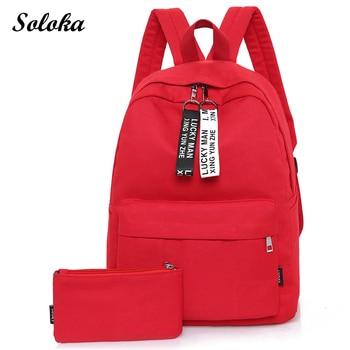 Mochilas bolsa mochila viaje conjunto mochila Mochilas adolescente escuela bolsas de de chica Lona Colegio Casual bolsa wIg8zxq