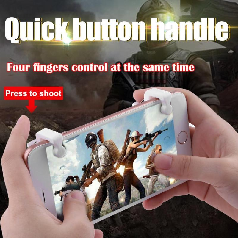 ALLOYSEED gaming Assistant Gamepad joystick Assist Tools For PUBG STG FPS TPS Game for Shortcut Button Shooter Terminator