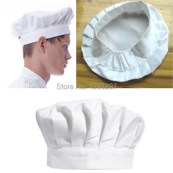77fa8346f6d (Track NO) Kitchen BBQ Cooking Baking Party Costume Cap White Adult Elastic Chef  Hat rqgStq-in Boys Costume Accessories from Novelty   Special Use on ...
