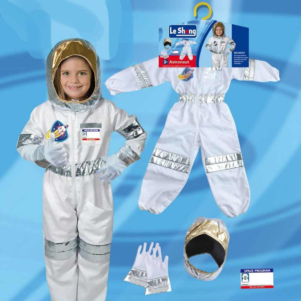 Children's Party Game Astronaut Costume Role-playing Halloween Costume Carnival Role-playing Dressing Ball Boy Rocket