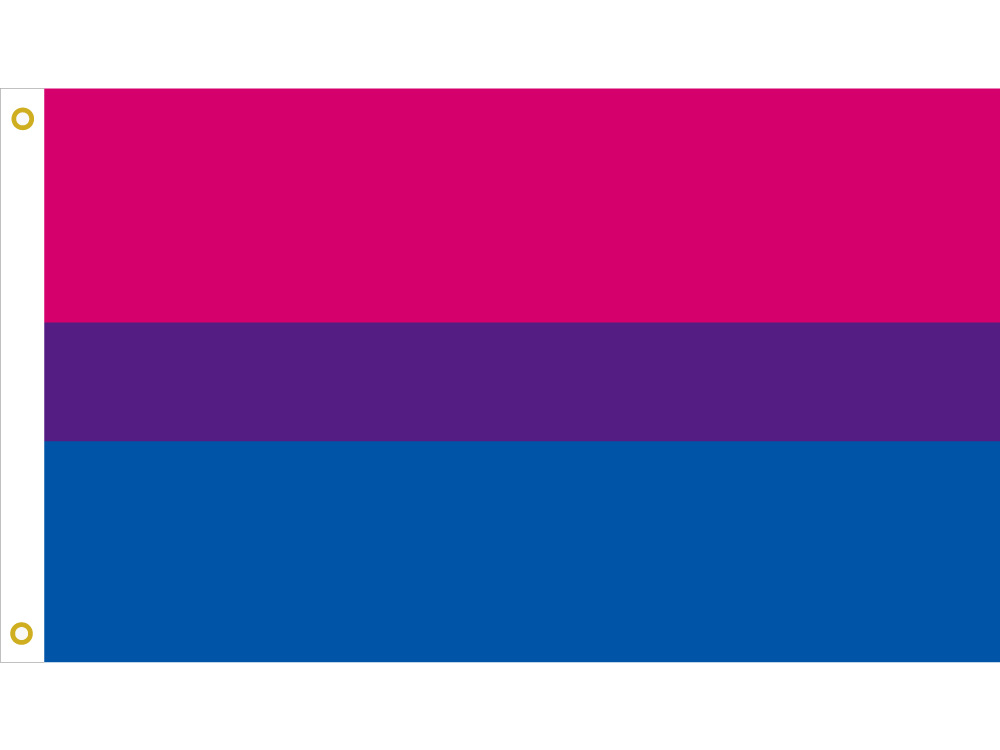 LGBT <font><b>Bisexual</b></font> Pride <font><b>bandera</b></font> <font><b>bisexual</b></font> 3*5 Feet Flag 90*150cm/60*90cm/40*60cm Flying Banner 15*21cm Hand Flag For Decoration image