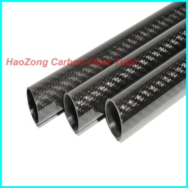 1-10pcs 9mm OD X 8mm ID X 500MM 3k tub din fibra de carbon / aripă de carbon Tubulatura / țeavă 9 * 8 (furnizori de fabricație) furnizor de fibră de carbon