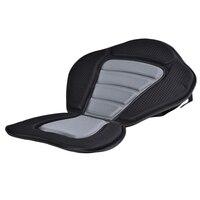 Adjustable Canoe Kayak Backrest Seat Storage Backpack Cushion Inflatable Boat Seat