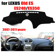 Car dashboard cover For LEXUS Old ES ES240 ES350 2007-2011 Left hand drive dashmat pad dash covers auto dashboard accessories
