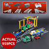 Lepin 02008 City Series The RC Freight Train Set 959pcs Compatible 60052 Model Building Blocks Bricks