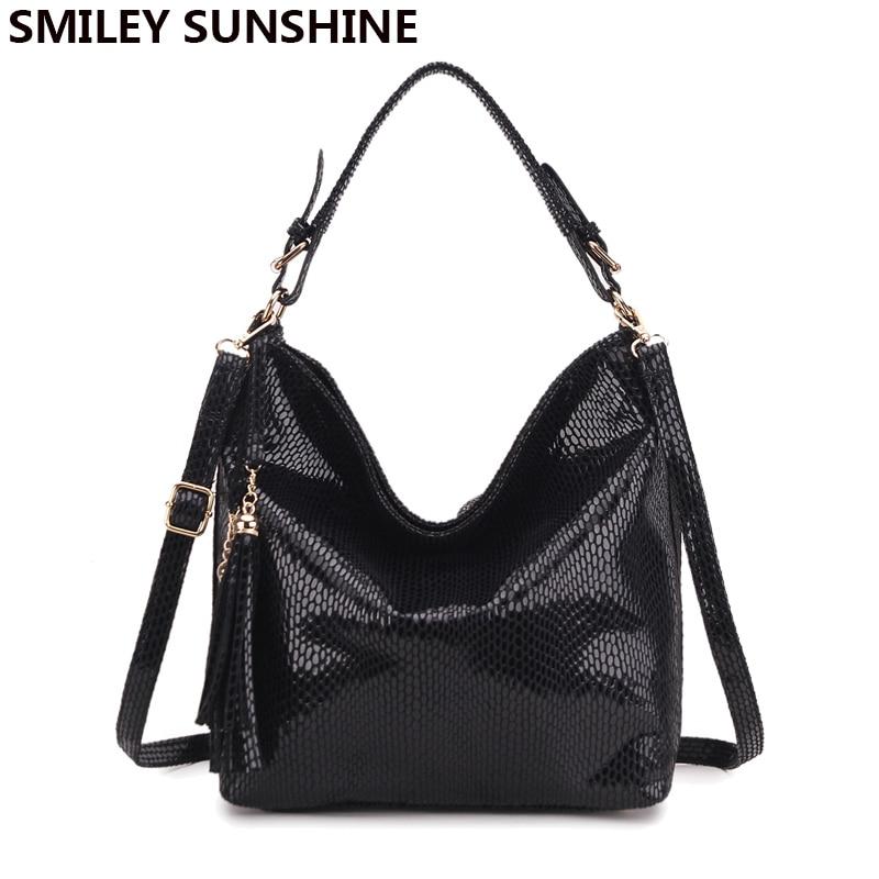 Fashion Leather Women Handbags Hobo Tassel Women Shoulder Bags Big Tote  Ladies Hand bags Female Crossbody. sku  32779379868 6fa8cfd9807c9