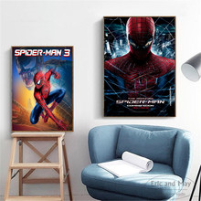 Amazing Spiderman Movie Artwork Wall Pictures Posters Prints Canvas Art Unframed Paintings Decoration Modern Home Decor Cuadros
