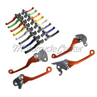 CNC Brake Clutch Levers For Suzuki RM125 RM250 RM 125 250 1996 2003 Adjustable Pivot Racing