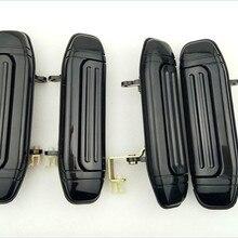 4 шт. полный комплект автомобиля Передняя Задняя внешняя дверная ручка черный для Mitsubishi Pajero Montero V31 V32 V33 V43 V46 V47