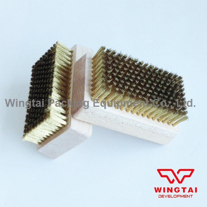 0.127mm 2pcs standard Copper wire brush for Metal Anilox Roller brass wire brush 0 127mm copper wire brush for cleaning chrome anilox roll