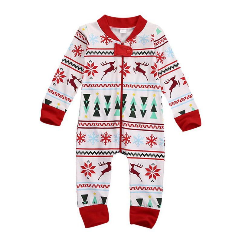 Christmas Family Pajamas Suits Daughter Mother Outfits Family Matching Clothes Xmas Family Look Sleepwear Pajama Sets