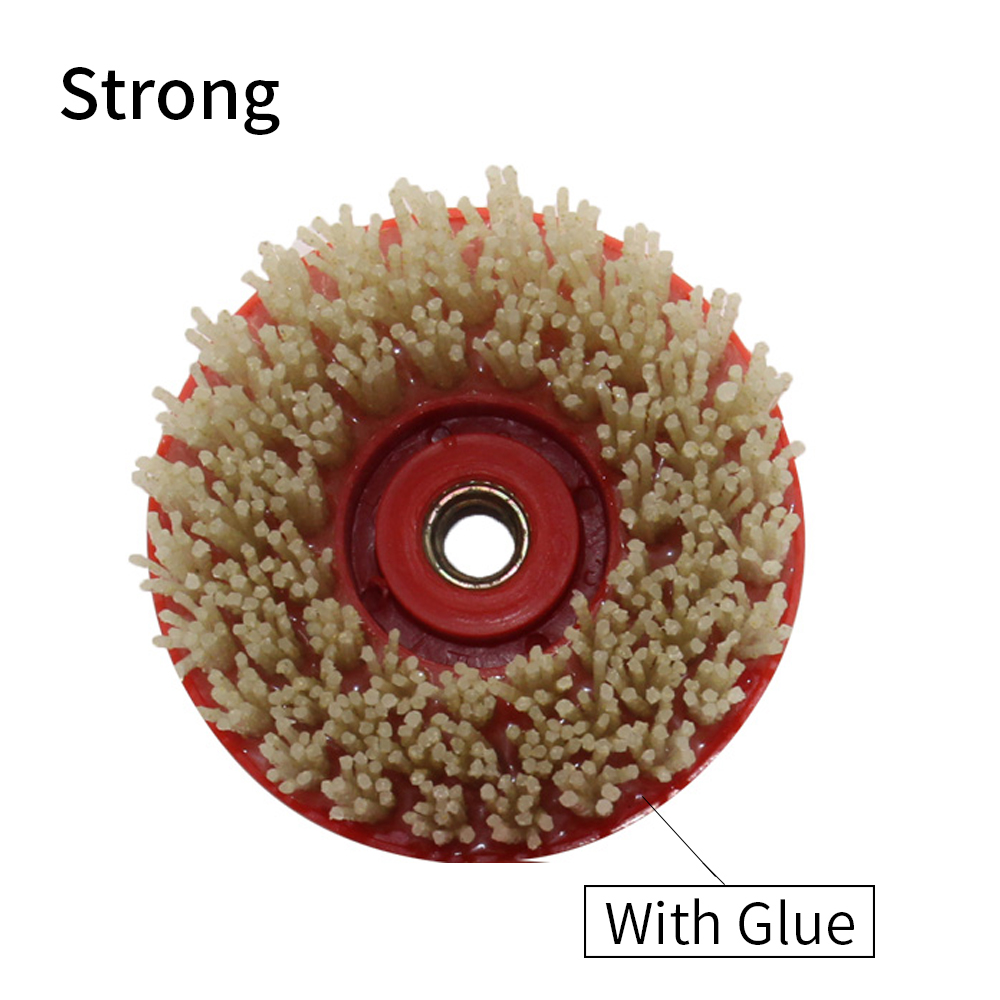 High Quality Brush Cleaning Stone Granite Marble Grit 24-500 110 Mm 4 Inch Diamond Round Brushes For Making Leather