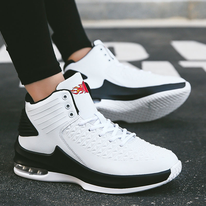 Jordan Basketball Shoes Outdoor Men Sport Sneakers Man Breathable Air Cushion Shoes Men Ankle Boot Basket Homme Designer Shoes