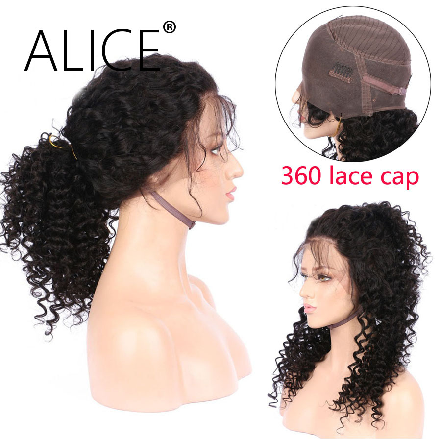 ALICE 360 Lace Frontal Wig With Baby Hair Natural Hairline Non Remy 8-20  (6)