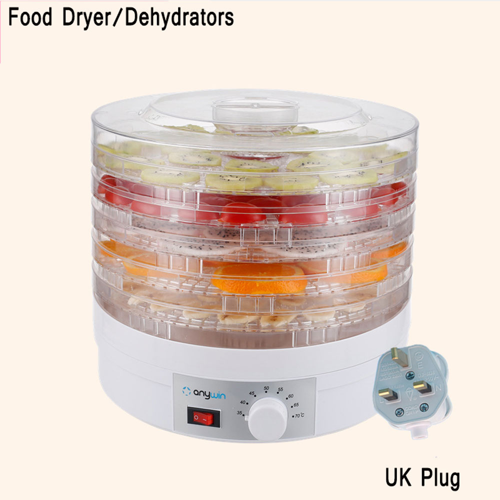 Pet Food Dehydrator Fruit Vegetables Herb Snacks Dryer Meat Drying Machine 5 Trays Layers Fruit Dehydration Machine shanghai kuaiqin kq 5 multifunctional shoes dryer w deodorization sterilization drying warmth