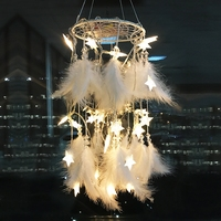 dream catchers wall hanging decor kids room decoration felt garland wind chimes dreamcatcher decoracion habitacion