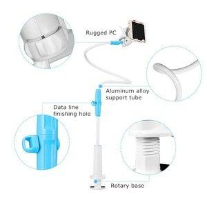 Image 4 - GUSGU טלפון מחזיק, גמיש ארוך זרוע טלפון נייד מחזיק Stand עבור iPhone 7 טלפון סלולרי מחזיק שולחן עבור טלפון שולחן