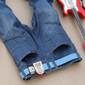 Brand Jeans men 2016 mens jeans elastic waist skinny men's jeans long slim fit casual trousers denim pants men Thin jeans