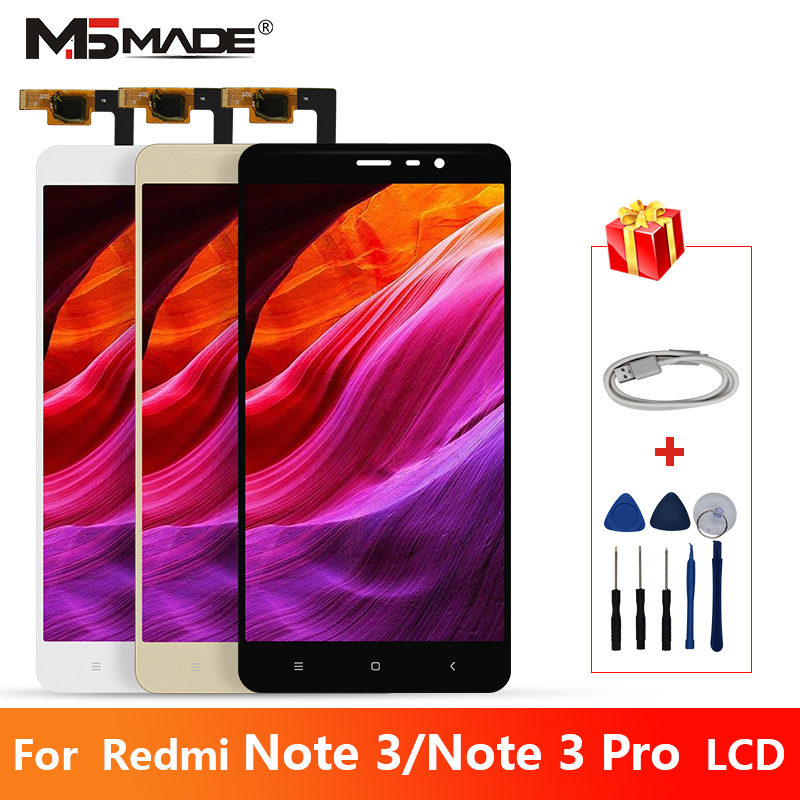 Original For Xiaomi Redmi Note 3 LCD Touch Screen Digitizer Display Assembly Parts For Redmi Note 3 Pro LCD Display