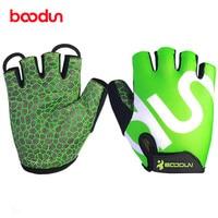 Boodun Fitness Gloves For Horizontal Bar Powerlifting Guantes Gym Eldiven Dumbell Barbell Dumbbells Body Building Training