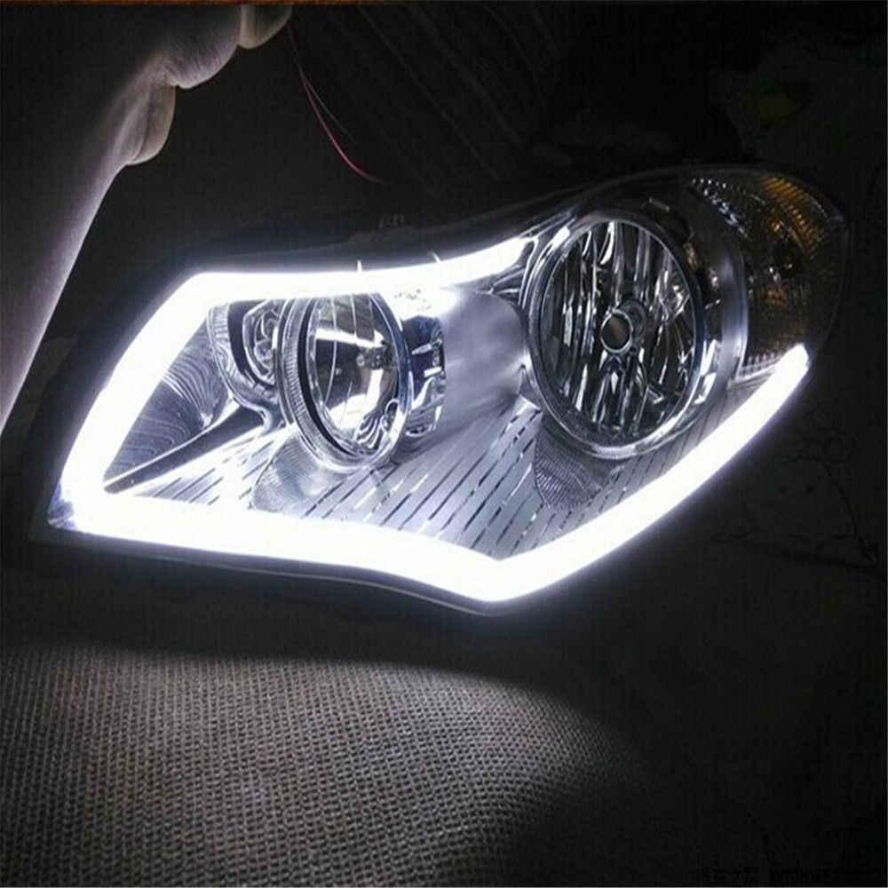 2x30 см Автомобильные светодиодные лампы DRL полоса дневного света Ангел глаз гибкий противотуманный белый свет парковочная лампа не указатель поворота