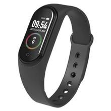 M4 smart bracelet pedometer heart rate monitor waterproof fitness tracker watch health wristband activity