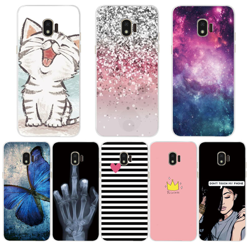 Silicone Case For Samsung J2 2018 Case Cover For Samsung Galaxy J 2 J2 2018 Sm-j250f J250 Case Fundas Soft Tpu Cover Phone Coque