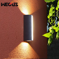LED outdoor wall lamp waterproof garden light stair aisle waterproof Luminaria outdoor wall light fixtures