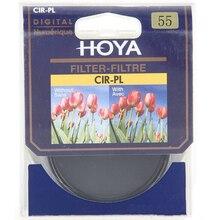 2 en 1 55 mm HOYA CPL CIR-PL delgado filtro polarizador Circular Digital Protector de lente + UV (c) filtro de la cámara como Kenko B + W