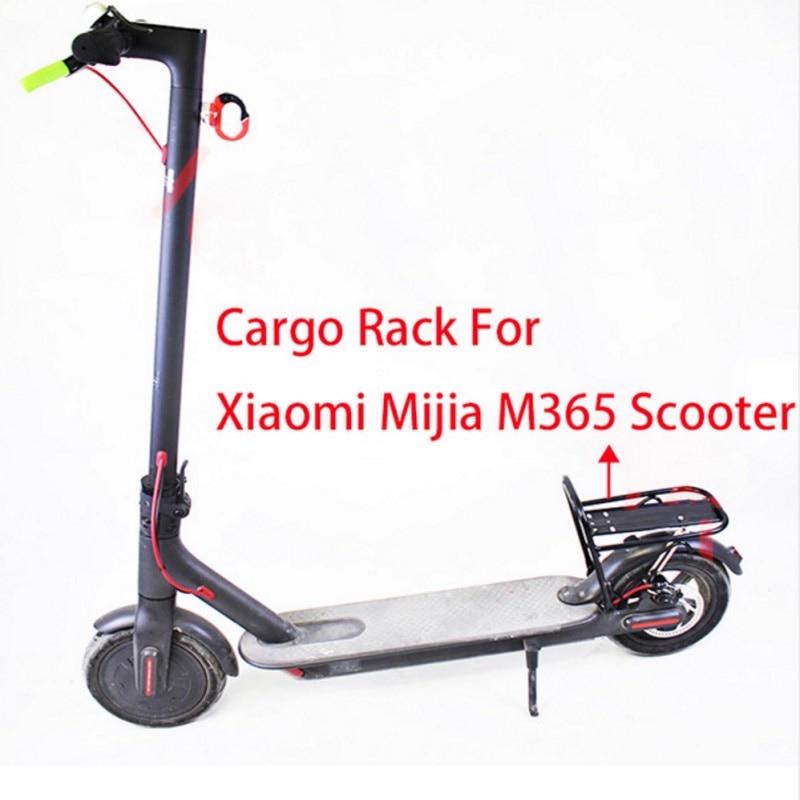 купить Luggage Carrier Cargo Rear Rack Storage Shelf Saddle for Xiaomi Mijia M365 Scooter Electric Skateboard по цене 1813.66 рублей