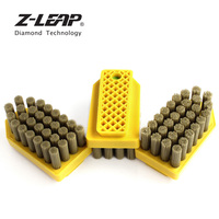 Z LEAP 3pcs Diamond Abrasive Brush Fickert Brush Reinforced High Quality Abrasive Antiquing Grinding Tool For Stone Cleaning