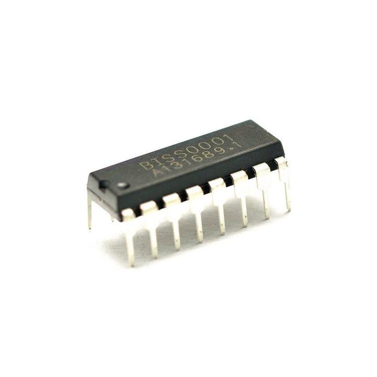 20 teile/los BISS0001 SOP16/DIP16 BISS-0001 CMOS Digital-analog hybrid ASIC Infrarot sensing signal prozessor