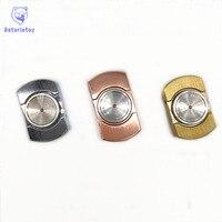 3 Colors Brass Spinner Fidgets Anti Stress Sensory Finger Spinner Hand Spinner High Quality Adult Toys