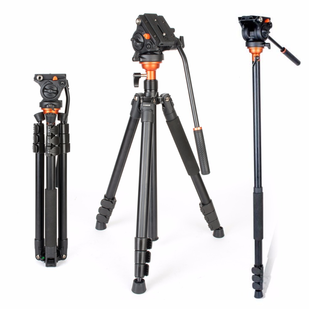 Aliexpress.com : Buy Coman DF06 Professional Video Tripod