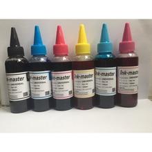 600ml T0801 Dye ink For Epson Stylus Photo P50 R265 R285 R360 RX560 RX585 PX650 RX685 PX700W PX710W PX800FW PX810W refill