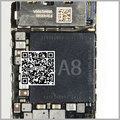Para iphone6 para iphone 6 plus grande cpu a8 a8 u0201 chip