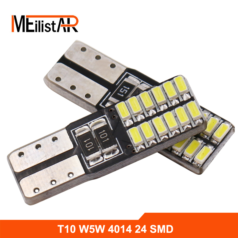 Newest T10 W5W LED car interior light cob marker lamp 12V 194 501 bulb wedge parking dome light canbus auto for lada car styling 10pcs led car interior bulb canbus error free t10 white 5730 8smd led 12v car side wedge light white lamp auto bulb car styling