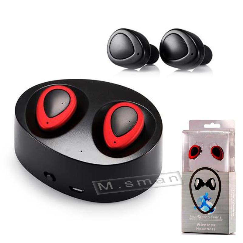 bilder für TWS K2 Drahtlose Kopfhörer Headset Mit Ladebuchse Auriculares In-ohr Kopfhörer Für Smartphone PK X1T Q800