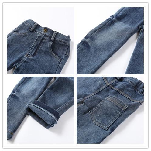 Toddler Boy Gentleman outfit Shirt + Jeans 5