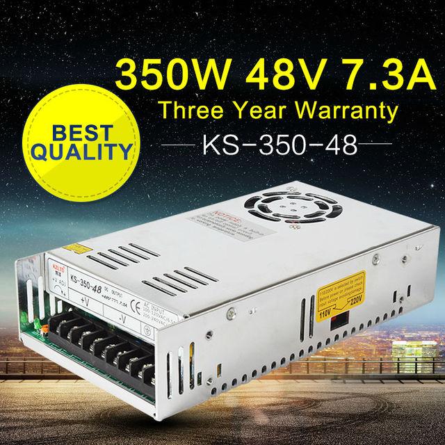 Switching Power Supply 48V 350W AC-DC 48V LED light Power Source Adapter 48VDC Power Supply for LED Light Monitor CCTV Camera