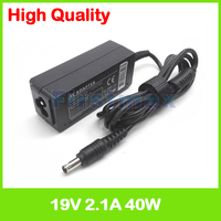 40 W 19 V 2.1A adaptador de energia AC para Samsung N145 N148 N145P N150 N148P N150P N210 N208 Plus N210P N218 N220 N220P N218P carregador|19v 2.1a|19v 2.1a ac adapter|ac adapter 19v 2.1a -