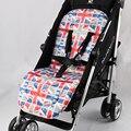Подушечка Для сиденья детской коляски удобный мягкий коврик для коляски  подкладка для коляски универсальные аксессуары для матраса дышащ...