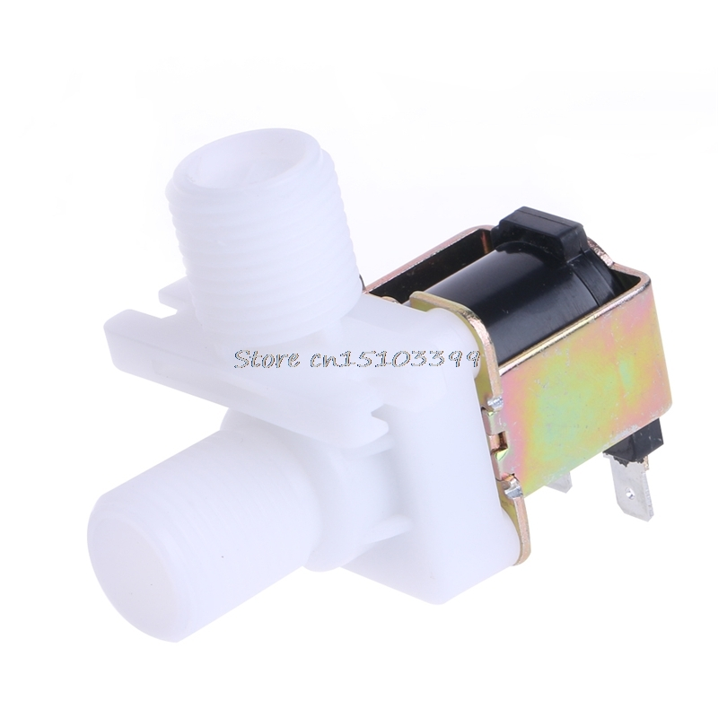 New DC 12V Electric Solenoid Valve Magnetic N/C Water Air Inlet Flow Switch 1/2 Drop Ship