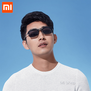 Image 5 - Xiaomi TS clip sunglasses TAC Lens 10g Zinc alloy 110 Degree random upturn Eye Protector Mijia Outdoor Travel Xiaomi sunglasses