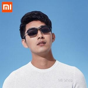 Image 5 - Xiaomi TS klip okulary przeciwsłoneczne całkowite dopuszczalne połowy (TAC) obiektyw 10g ze stopu cynku 110 stopni losowo wzrost oczu Protector Mijia na zewnątrz podróży Xiaomi okulary przeciwsłoneczne